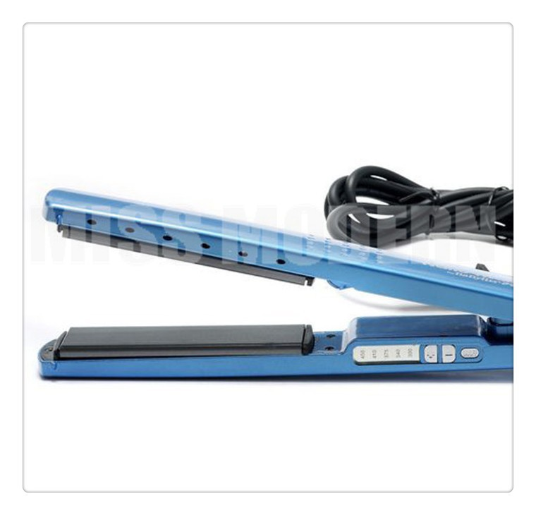 """новый ультра-гладкую утюжок pro Титан нано волос Выпрямитель 1 1/4"""" плоский железный Титан плиты перо 40pcs/лот"""