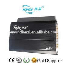 Mosfet ky-15.4 estéreo 2000w 12v/24v profesional amplificador