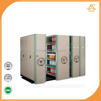 mass shelves office furniture luoyang Mobile mass file shelving library compact shelving