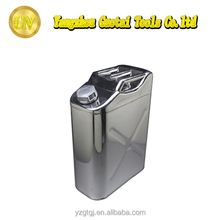 20L stainless steel 304 safety liquid storage petrol tank