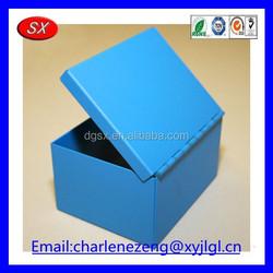 Customized hardware small aluminum case , stainless steel tea box , small aluminum box for tea