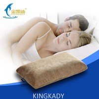 42*24*10.5cm silicone pillow promotional price, hotel polyester pillow