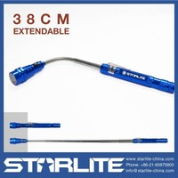 STARLITE extendable length 38cm 22m flexible telescopic led flashlight 3 led