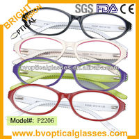 P2206 colorful Children Optical frame kids eyeglasses spectacles new design factory direct sale