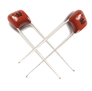 Miniature Metallized Polyester Film Capacitor CL21 with Pitch 5mm