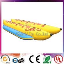 Hot inflatable banana boat, double boat