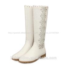 blanco botas para dama