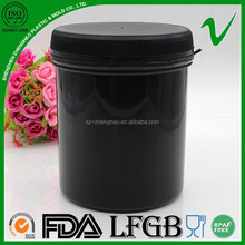 HDPE liquid detergent plastic cylindrical container for storage