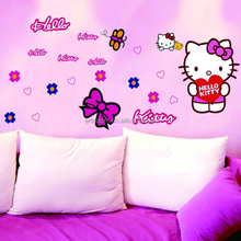 Removable Vynil Cat Wall Decoration Sticker Room Girls