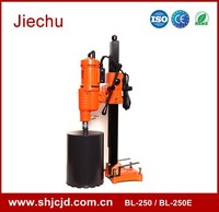 Popular 250mm adjustable switching regulator stand diamond core drill with tool kit