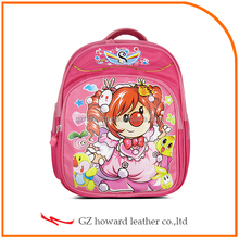 lovely children school bag girls school bag chinese manufacture