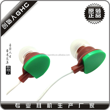 zipper earphone with mic high quality design and quality free samples offered