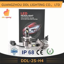 Hot Unique Model!!! ce rohs approved H1 H3 H4 H7 H8 H9 H11 9005 9006 3600lm 2S led headlight car