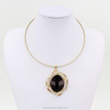 2015 New Arrival Big Fashion Necklace,Rhinestone Choker Women Necklace