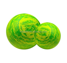 Natural rubber bouncing lacrosse ball massage