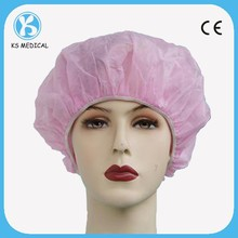 Medical Accessories Disposable Surgical Nonwoven Bouffant Cap