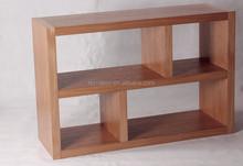 Simple design wood MDF bookcase