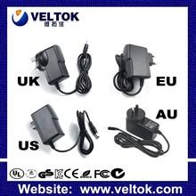 power adapter input 100 240v ac 50/60hz ac adapter CE ROHS FCC UL