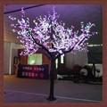 mejor venta de navidad artificiales de colores led árbol de la luz artificial del árbol de cerezo