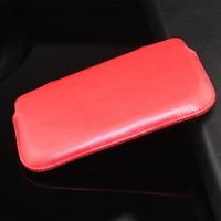 Wholesale Price For iPhone4 Luxury Flip Leather Cover Case for iphone real leather case