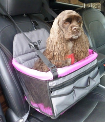 Car DELUXE Lookout Pet Booster Car Seat Seat Dog Travel