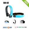 Bulk sale cute cheap headphone stereo mp3 player wireless headphone shenzhen