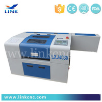 High speed laser engraving machine pen & laser cutting machine leather LXJ4030
