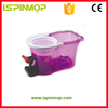 ISPINMOP new product telescopic three parts pole spin mop parts in mop.
