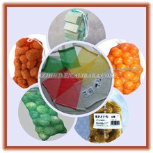 Shandong cheap hdpe plastic mesh net packing Bags,knitted net bags for vegetable and fruit