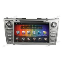 Android 8 inch for toyota camry touch screen car dvd player navigation system with Bluetooth + wifi + gps + video