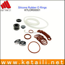 Anti-Heat Highly Elastic Silicone Rubber Seal O Ring Made in China