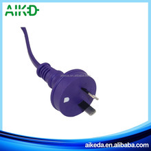 Made in zhejiang super quality oem 3 pin ac power cable for dell laptop eu plug