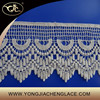 YJC25131 Cotton embroidery lace fabric lace trim