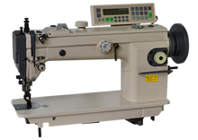 ELECTRONIC HEAVY DUTY TOP AND BOTTOM FEED LOCKSTITCH SEWING MACHINE