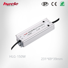 HLG-150W dimmable LED driver with CE,RoSH yueqing hwele
