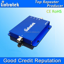 LINTRATEK brand high gain 65db mobile phone signal booster900&1800mhz Dual Band Repeater Booster