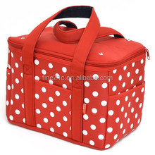 Easy to carry promotion non woven cooler bag