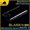 blank phone case for samsung galaxy note 3 neo n750 n7505, note 3 case