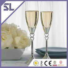 Comfortable to Hold Easy to Clean Gold Champagne Flutes Wedding Wine Glass Charms Best Champagne Flutes