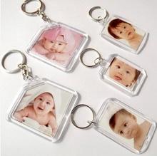 Acrylic Keychain/Acrylic Keyring/Blank Acrylic Keychain for Promotional Gift
