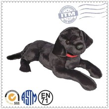 Factory price ICTI and Sedex audit new design black pug stuffed animal