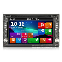"""Free shipping for KC-101 In Dash 6.2"""" 2DIN Car DVD Player with GPS NavigationRaido Bluetooth"""