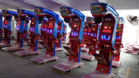 Best price but high quality Coin operated theme park games boxing machine for sale