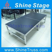 portable collapsible stage aluminum modular stage
