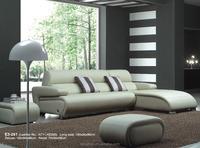 Superb Genuine Leather Corner couch lounge micro fiber leather sofa cover