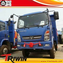 EURO 4 diesel engine 116hp 103KW 1t 1.5t 2t 2.5t 3t small mini cheap 4x4 dump truck for sale