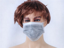high quality disposable 3ply medical carbon mask with a pattern