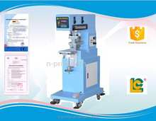 Single-color open ink tray label, pen ,bluetooth , logo, pad printing machine with ink cup LC-PM1-150