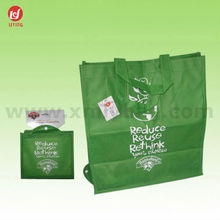 Promotion Fashion Market Non Woven Folding Bag for Shopping