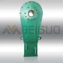 Wholesale Custom double output shaft small worm reduction speed gear boxes casting worm gear box